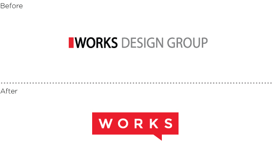 New Look for Works Design, a branding and package design company