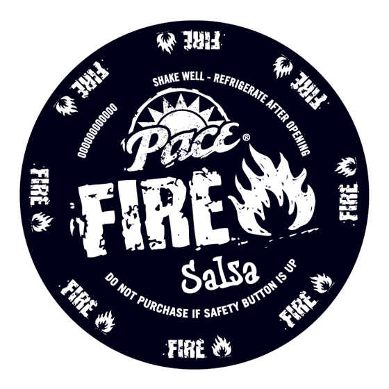 Pace Fire Salsa Food Package Design
