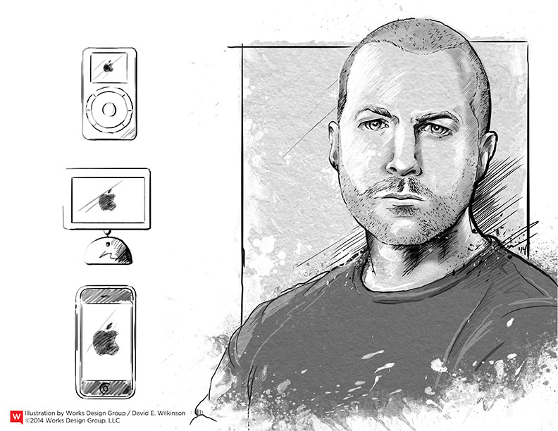creative titans how jonathan ive shaped apple works design group. Black Bedroom Furniture Sets. Home Design Ideas