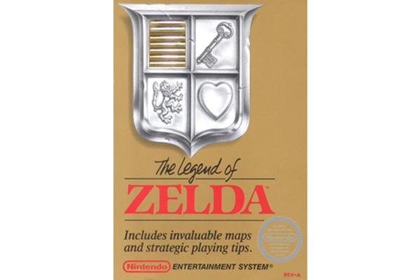 Legend of Zelda Video Game Packaging