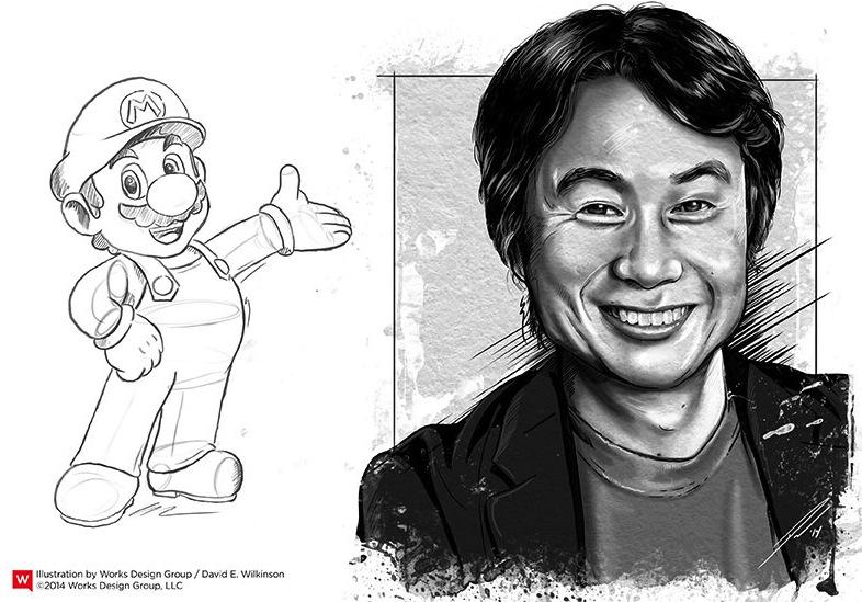 Miyamoto and Nintendo Design
