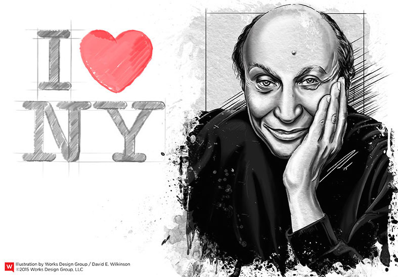 Milton Glaser Iconic Design