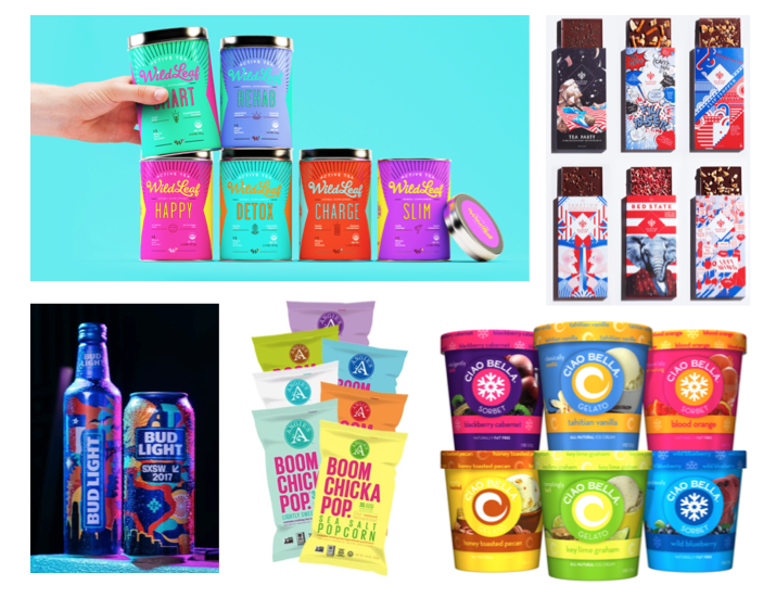 Trendy Package Design: 25 Package Design Trends For 2018